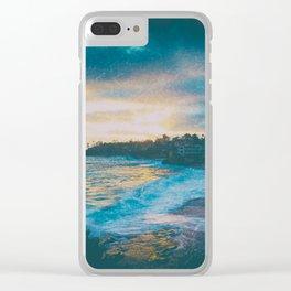 Laguna beach California c Clear iPhone Case