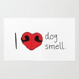 I Love Dog Smell Rug