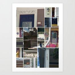 143 in 02143 Art Print