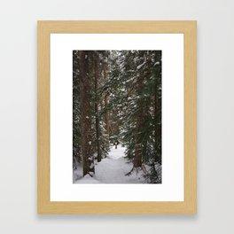 Where We Found Narnia Framed Art Print
