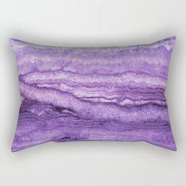 Mystic Stone Wild Violet Rectangular Pillow