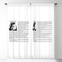 Good Wife's Guide Blackout Curtain