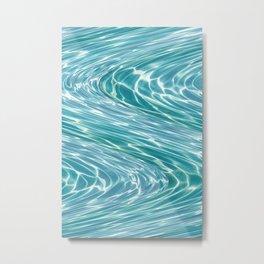 Water Waves Metal Print