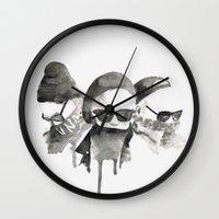 shinee Wall Clocks featuring 3- by helenwidjaja