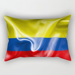 Colombian Flag Rectangular Pillow