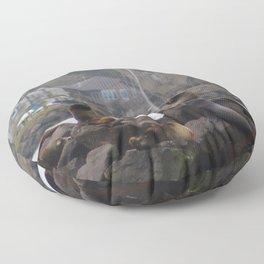 Oregon Coast Widlife Floor Pillow