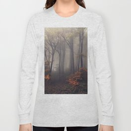 Red leaves of autumn Long Sleeve T-shirt