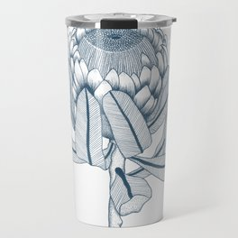 Protea Plant Travel Mug