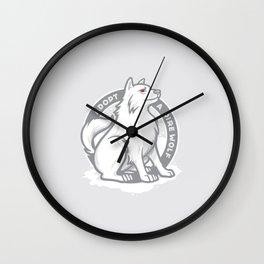 Adopt A Dire Wolf Wall Clock