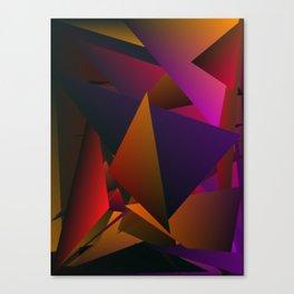 Smoke Screen Abstract 4 Canvas Print
