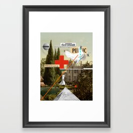 Pain Killer Framed Art Print
