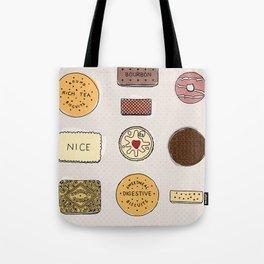 British Biscuits Tote Bag