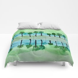Cool Reflections Comforters