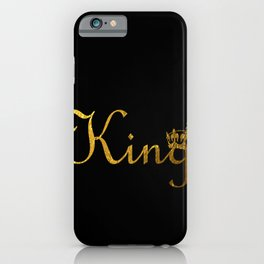 King Crown iPhone Case