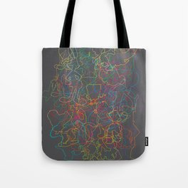 50 Animated Characters  Tote Bag