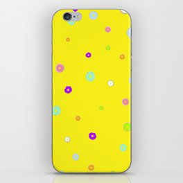 DONUT WORRY 3 (without text) iPhone Skin