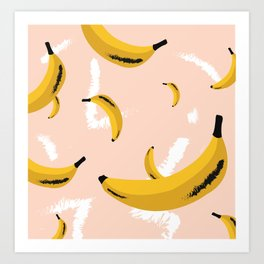 banana rama Art Print