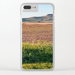 Grass Lands Clear iPhone Case