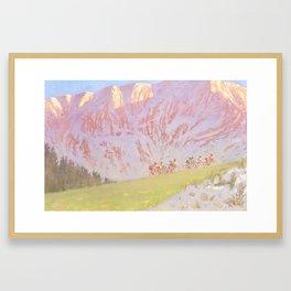 Beakaway Framed Art Print