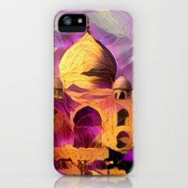 Violet Temple iPhone Case