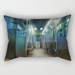 Ghost Train Rectangular Pillow