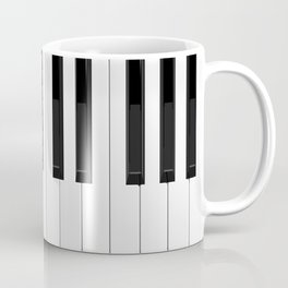 Piano / Keyboard Keys Coffee Mug
