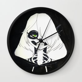 Skullface Wall Clock
