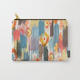 VIVID IKAT Carry-All Pouch