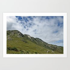 African Mountains Art Print
