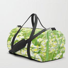 Field of daisies Duffle Bag