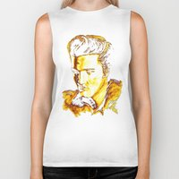 elvis presley Biker Tanks featuring Elvis Presley by GittaG74