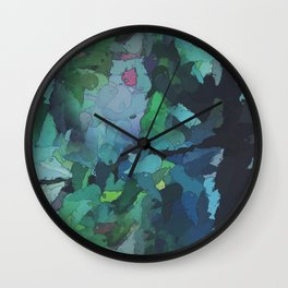 Tree Vomit Wall Clock