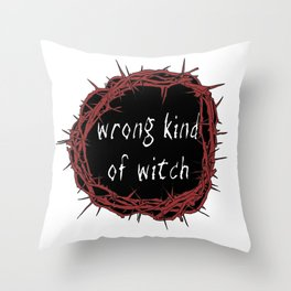 Manon Quote Throw Pillow