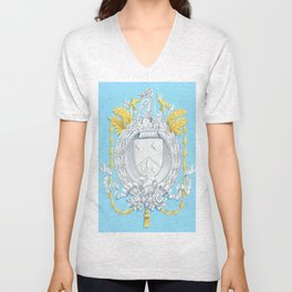 Neoclassical Arms Unisex V-Neck