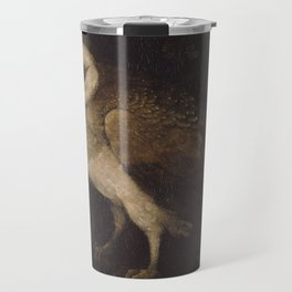 An Owl By Moses Haughton 1780 - Reproduction from original under CC0 Travel Mug