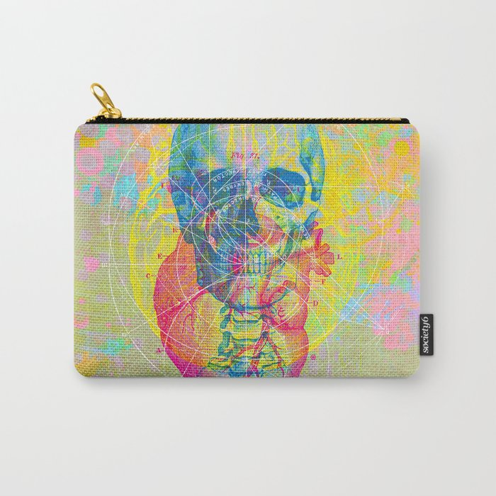 Brain Heart Skull Carry-All Pouch