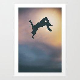 Catching Air Art Print