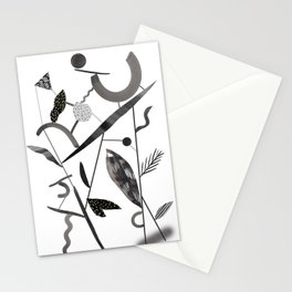 Abstract Botanica - 2 Stationery Cards