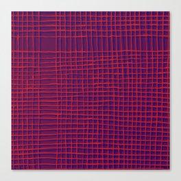 Left - purple Canvas Print