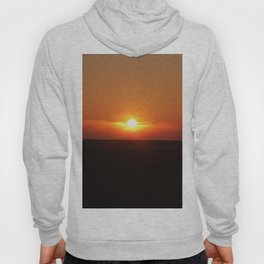 Sunset in Wiltshire England Hoody