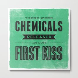 Chemicals Metal Print