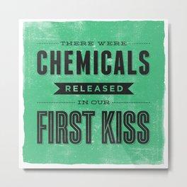 Chemicals Metal Print