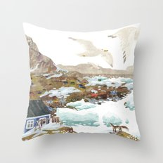 Greenland Throw Pillow