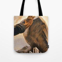 Ercolano Naples Italian art deco ad Tote Bag