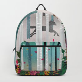 Flying Horses Backpack