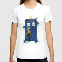kermit T-shirts featuring Doctor Who Kermit by Roe Mesquita