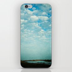 Where Sea and Sky Meet iPhone Skin