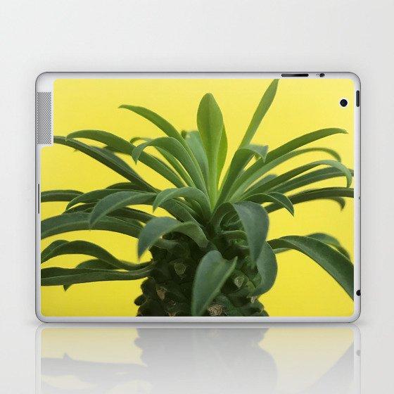 Euphorbia hypogaea(yellow) Laptop & iPad Skin