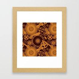 Clockwork 1 Framed Art Print