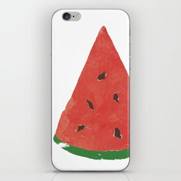 Watercolor Watermelon iPhone Skin